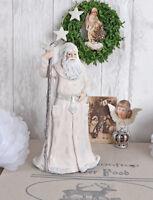Weihnachtsmann Figur Nikolaus Weihnachten Dekofigur Santa Weihnachtsfigur 30cm