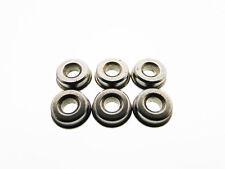 6 Boccole in acciaio inossidabile da 7 mm piene