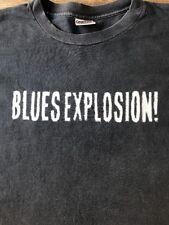 Vintage JSBX JON SPENCER BLUES EXPLOSION black w/ silver lettering XL tee shirt