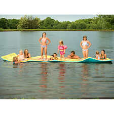 Neptune's Island Floating Foam Mat 17' x 6' by Aqua Lily Water Float NEW!