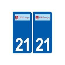 21 Ladoix-Serrigny logo autocollant plaque stickers ville arrondis