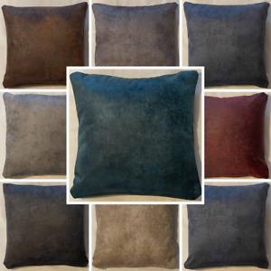 High Quality Handmade Rustique Velvet Cushion Cover Home Decor Sofa Bed Zipper