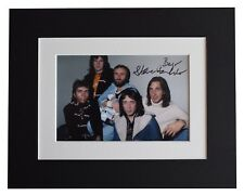 Steve Hackett  Signed Autograph 10x8 photo display Genesis Music AFTAL COA