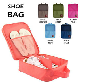 Shoes Bag for Travel Gym Sports School Rugby Toiletry Portable Shoe Storage UK