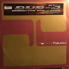 DUB-j • Words / The Dub-j Song • Vinile 12 Mix • MOR 0302