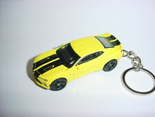 2016 3D YELLOW CHEVROLET CAMARO SS CUSTOM KEYCHAIN keyring KEY CHAIN BUMBLE BEE