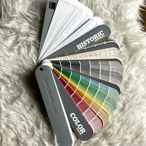 Sherwin Williams Paint Fan Deck Color Swatch 2015 Color Snap Interior Exterior