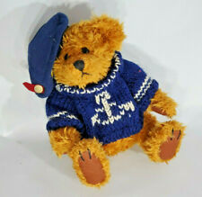 """Pickford Bears Brass Button Collectables """"Tango"""" Bear of Happiness"""