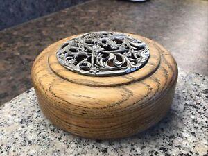 Oak Insense Bowl