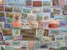500 Different British Atlantic Stamp Collection