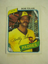 1980 Topps #708 Bob Tolon Baseball Card (GS23-18)