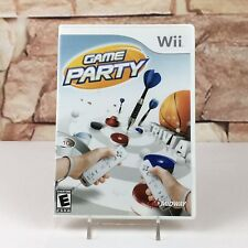 Game Party (Nintendo Wii) Complete - A10