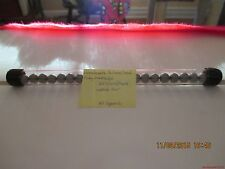 """Marbles-Tube of 22-Pee Wee Silver Dyed Clay Marbles#38-.334""""=8.49mm"""
