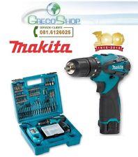 Trapano avvitatore c/percussione 10,8V 2x batteria e acc. Makita - HP330DX100