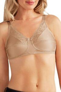Amoena Mastectomy Bra   Nancy  Light Nude  SIZES  ~  36F ~ 38D