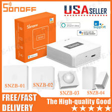 SONOFF ZB Bridge Smart Home Humidity And Temperature Sensor Wifi Switchss Lot 🥇