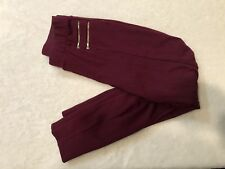 Charlotte Russe Maroon Legging Jeans Size Small Gold