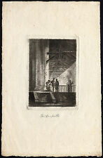 Antique Master Print-PRESENTATION CHRIST-TEMPLE-CHURCH-Watelet-Weirotter-1763
