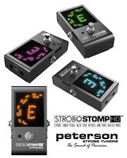 Peterson StroboStomp Hd Compact Strobe Tuner Pedal