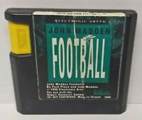 Original John Madden Football (Sega Genesis, 1990 1991 Authentic Original NFL 91