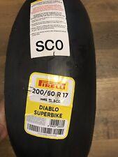 Rennreifen Reifen Pirelli Diabolo Tyre Superbike 200 60 R 17 -  35/2017