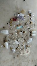 New listing 71 Vintage Chandelier table wall lamp light replacement bulb lot all small sizes