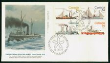 Mayfairstamps Canada Fdc 1978 Ship Combo Northern Light Delivering Mail First Da