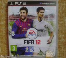 Fifa 12 Playstation 3 (Ps3) En español, En muy buen estado, En Castellano, Usado