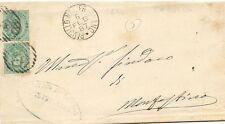 P5257   Modena, PAVULLO nel FRIGNANO,    annullo numerale a sbarre 1887