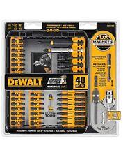 DEWALT DWA2T40IR 40-Piece Impact Ready Screwdriver Tool Kit Set Brand New Sealed