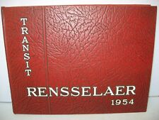 1954 Transit, Rensselaer Polytechnic Institute, Troy, New York Yearbook