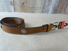 Size 40 Shot Gun 12 Gauge Mens Genuine Leather Belt 3D Belt Western Cowboy #0154