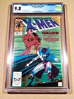 Uncanny X-Men #256 CGC 9.8 1st Appearance of Psylocke! Jim Lee Art! White Pages!