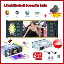 4019B 1 DIN HD Car Voiture Autoradio DVD Lecteur Bluetooth MP5 Player FM AUX