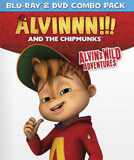 Alvin & The Chipmunks: Alvin's Wild Adventures [Blu-ray]/[DVD] Combo, DVD, Vario