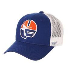 Florida Gators Zephyr Blue Big Rig 1979 Retro Mesh Structured Snapback Hat Cap