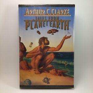 Tales From Planet Earth Arthur C Clarke Rare BCE Hardback Book Rare Vintage 1990