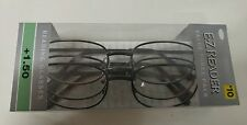 LOT OF 3 FOSTER GRANT RR52 READING GLASSES +1.50 NEW