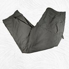 Mountain HardWear Men's Pants Size 34x32 Gray Straight  Lightweight Hiking