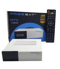 FREESAT GTC S905D ISDB-T DVB-T2 DVB-C RECEPTOR SATÉLITE DVB-S2 ANALOGIC ANDROID
