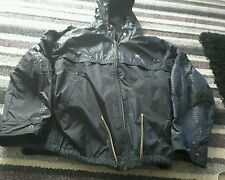 FILA GOLD   BLACK JACKET    SIZE LARGE     BNWT........IMMACULATE CONDITION