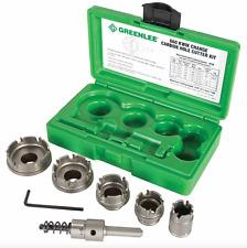 """Greenlee 660 Quick Change Steel Hole Cutter - 7/8"""", 1-1/8"""", 1-3/8"""", 1-3/4"""", 2"""""""