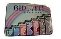 Bid It Card Game Enginuity in a Tin Family Fun  New