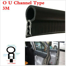 3M Car Door Frame Window O U Channel Edge Moulding Trim Seal Trunk Strip Black