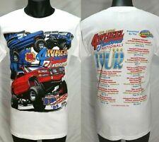 Vtg 90s 4 Wheel Jamboree Nationals Tour 1999 T Shirt Men Size M Monster Trucks