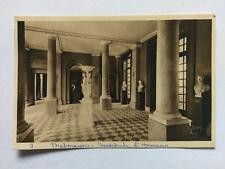 Paris France Vintage B&W Postcard 1939 Palais de Malmaison Vestibule d'Honneur