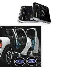 Ford LED Projector Logo Emblem Symbol Sign Badge Under Door Neon Car Light 2 Set