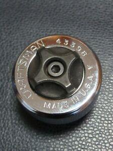 "Craftsman 3/8"" Drive Thumbwheel Thumb Finger Ratchet 43398 USA V"