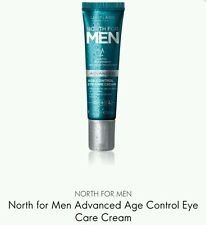 2×Oriflame North for Men Advanced Age Control Eye Care Cream, 2×15ml New *Sale *