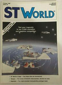 Atari ST World Magazine Issue 20 October 1987